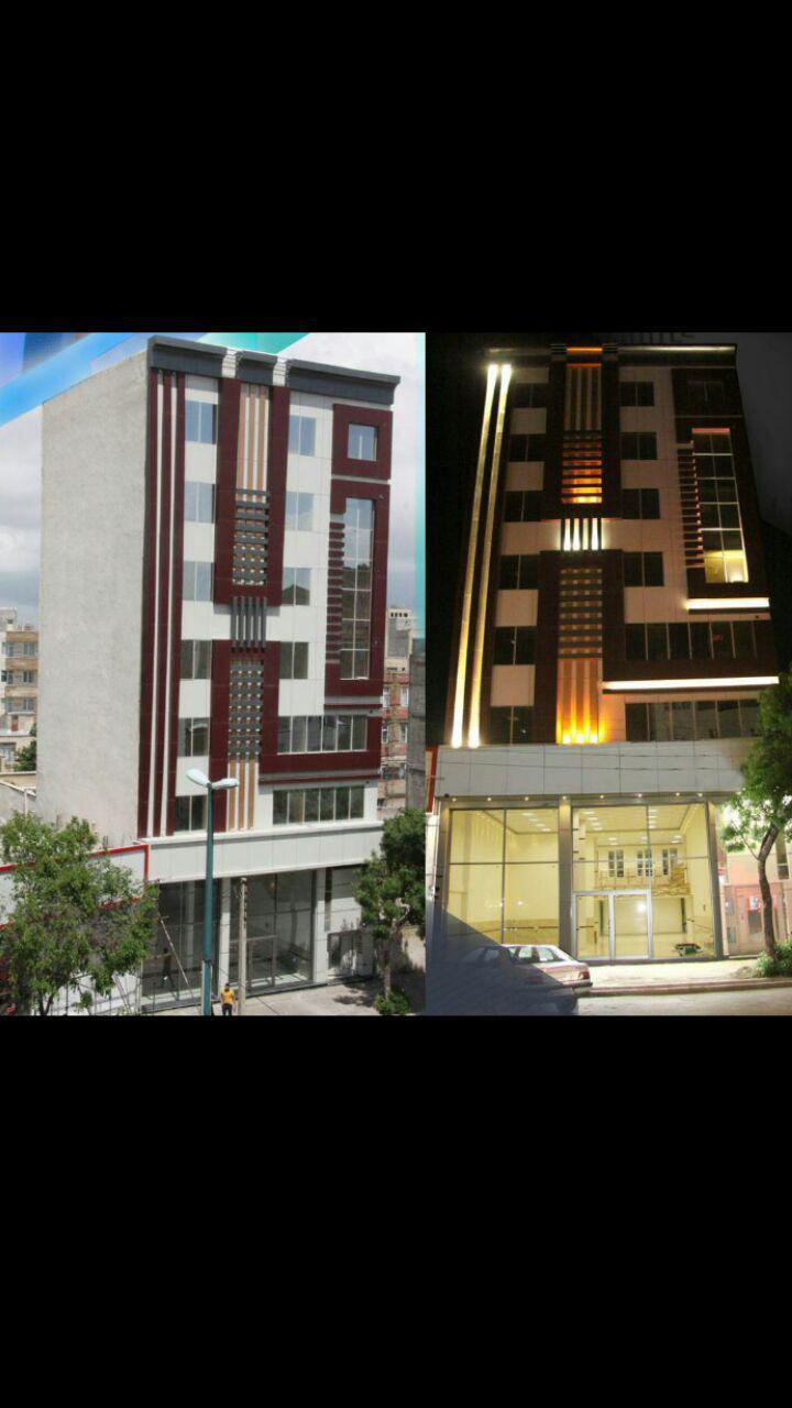 فروش ساختمان تجاری و خدماتی بطورکلی ( معاوضه با زمین و مغازه)