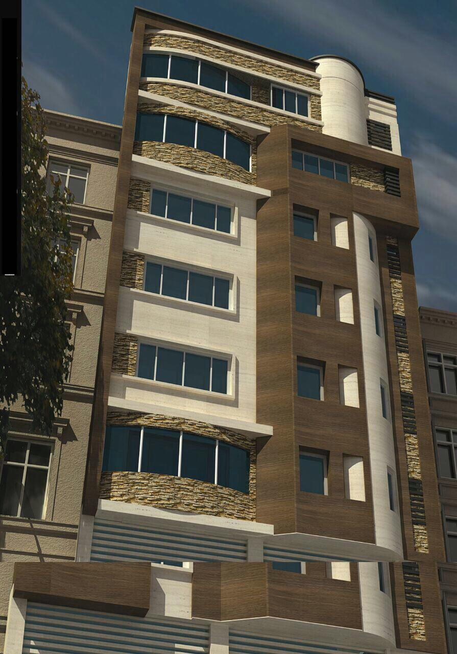 فروش طبقات دوم و ششم از آپارتمان هفت طبقه در خیابان دانش