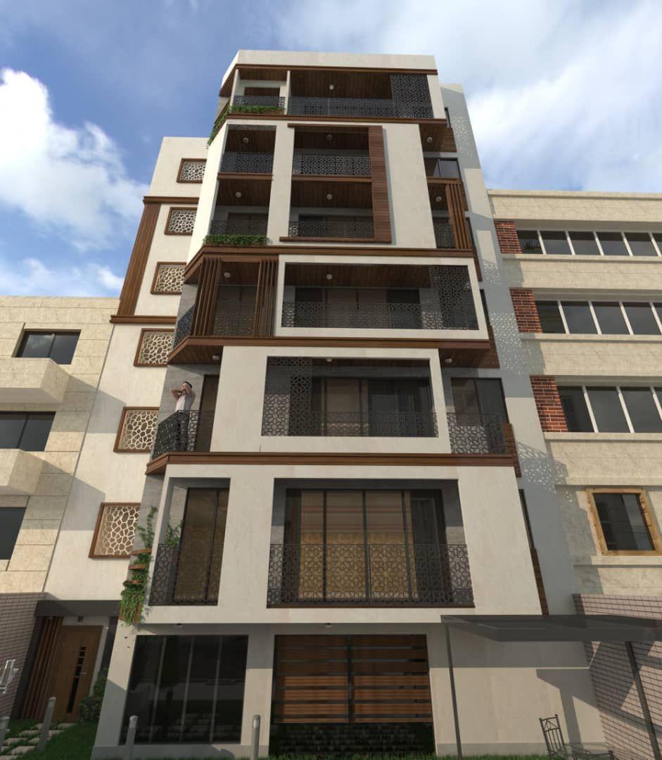 پیش فروش طبقات 1 تا 5 از آپارتمان 6 طبقه در میدان بسیج