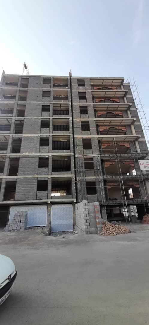 پیش فروش کلیه طبقات از آپارتمان زیرزمین پیلوت 7 طبقه در دانش