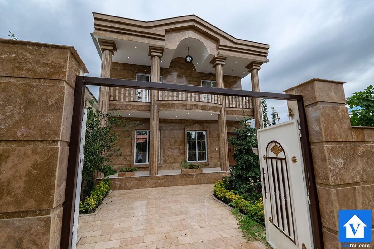 فروش خانه ویلایی پیلوت 2 طبقه در شهرک رضوان